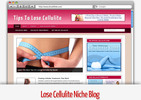 Thumbnail Lose Cellulite Niche Blog - Video Tutorials Included