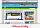 Thumbnail Paid Surveys Niche Blog - Video Tutorials Included