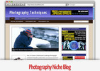 Thumbnail Photography Niche Blog - Video Tutorials Included