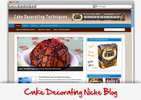 Thumbnail Cake Decorating Niche Blog - Video Tutorials Included