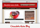 Thumbnail Chocolate Lovers Niche Blog - Highly Optimized Blogs