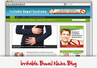 Thumbnail Irritable Bowel Syndrome Niche Blog - Highly Optimized Blogs