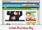 Thumbnail Irritable Bowel Syndrome Niche Blog - Highly Optimized Blogs