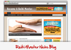 Thumbnail Reiki Master Niche Blog - Highly Optimized Blogs