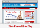 Thumbnail Wart Removal Niche Blog - Highly Optimized Blogs