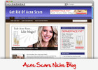 Thumbnail Acne Scars Niche Blog - Highly Optimized Blogs