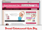 Thumbnail Breast Enhancement Niche Blog - Highly Optimized Blogs