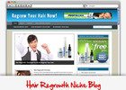Thumbnail Hair Regrowth Niche Blog - Highly Optimized Blogs