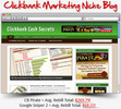 Thumbnail Clickbank Marketing Niche Blog - Highly Optimized Blogs
