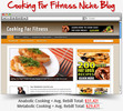 Thumbnail Cooking For Fitness Niche Blog - Highly Optimized Blogs