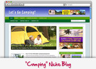 Thumbnail Camping Niche Blog - Highly Optimized Blogs