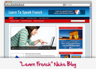 Thumbnail Learn French Niche Blog - Highly Optimized Blogs