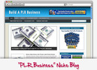 Thumbnail PLR Business Niche Blog - Highly Optimized Blogs