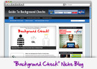 Thumbnail Background Checks Niche Blog - Highly Optimized Blogs