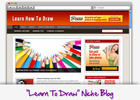 Thumbnail Learn To Draw Niche Blog - Highly Optimized Blogs