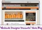 Thumbnail Wholesale Designer Niche Blog - Highly Optimized Blogs