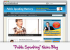 Thumbnail Public Speaking Niche Blog - Highly Optimized Blogs