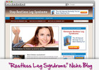Thumbnail Restless Legs Syndrome (RLS) Niche Blog - Highly Optimized Blogs