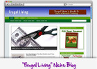 Thumbnail Frugal Living Niche Blog - Highly Optimized Blogs
