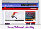 Thumbnail Learn To Dance Niche Blog - Highly Optimized Blogs