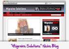 Thumbnail Migraine Solution Niche Blog - Highly Optimized Blogs
