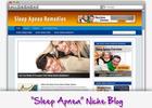 Thumbnail Sleep Apnea Niche Blog - Highly Optimized Blogs