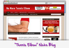 Thumbnail Tennis Elbow Niche Blog - Highly Optimized Blogs