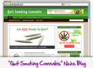 Thumbnail Quit Smoking Cannabis Niche Blog - Highly Optimized Blogs