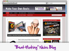 Thumbnail Make Your Own Beats Niche Blog - Highly Optimized Blogs