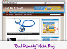 Thumbnail Get Rid of Gout Niche Blog - Highly Optimized Blogs