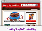 Thumbnail Healthy Dog Food Niche Blog - Highly Optimized Blogs
