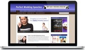 Thumbnail Perfect Wedding Speech Niche Blog - Highly Optimized Blogs