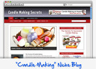 Thumbnail Candle Making Niche Blog - Highly Optimized WP Blogs