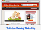 Thumbnail Chicken Raising Niche Blog - Highly Optimized WP Blogs