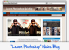 Thumbnail Learn Photoshop Niche Blog - Highly Optimized WP Blogs