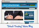 Thumbnail Stock Trading Niche Blog - Highly Optimized WP Blogs