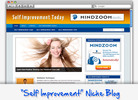 Thumbnail Self Improvement Niche Blog - Highly Optimized WP Blogs