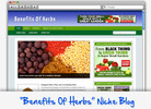 Thumbnail Benefits Of Herbs Niche Blog - Highly Optimized WP Blogs
