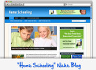 Thumbnail Home Schooling Niche Blog - Highly Optimized WP Blogs