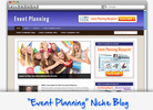 Thumbnail Event Planning Niche Blog - Highly Optimized WP Blogs