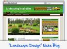 Thumbnail Landscape Design Niche Blog - Highly Optimized WP Blogs