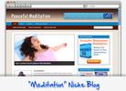 Thumbnail Meditation Niche Blog - Highly Optimized WP Blogs