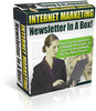 Thumbnail Internet Marketing Newsletter In A Box - PLR
