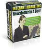 Thumbnail Internet Marketing Newsletter In A Box - PLR