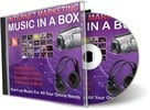 Thumbnail Internet Marketing Music in a Box (PLR) - 101 Royalty Free Music Clips