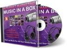 Thumbnail Internet Marketing Music in a Box (PLR) - 101 Royalty Free Music Clips