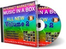 Thumbnail Internet Marketing Music in a Box V2 (PLR) - 353 Royalty Free Music Clips