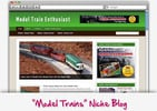 Thumbnail Model Train Niche Blog - Highly Optimized WP Blogs