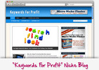 Thumbnail Keywords for Profit Niche Blog - Highly Optimized WP Blogs