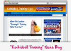 Thumbnail Kettlebell Workouts Niche Blog - Highly Optimized WP Blogs
